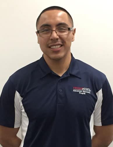 EOP Student Miguel Aguirre